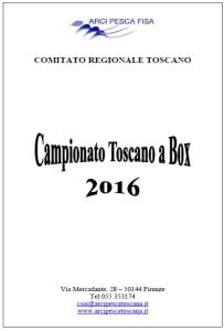 Copertina Campionato Toscano a Box