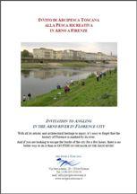 Invito alla pesca ricreativa in Arno a Firenze