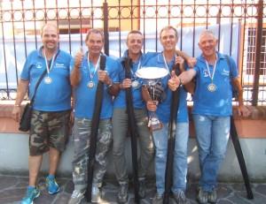 APD Firenze Colmic Stonfo Londi vincitrice Campionato Italiano a Box 2014