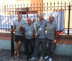 CANNISTI PRATESI Trabucco Stonfo vincitori Coppa Italia a Box 2014